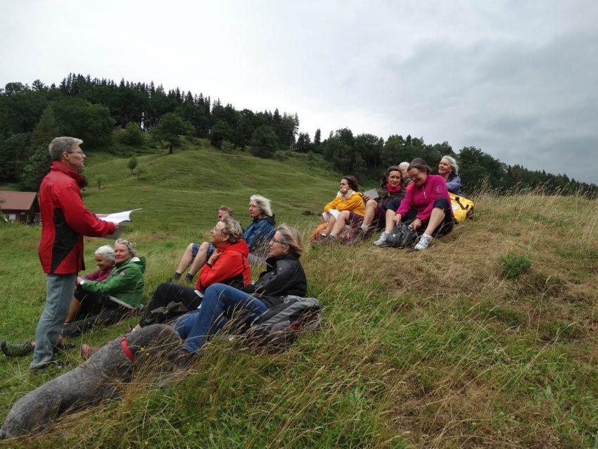 Grat-Wanderung: Das Auf und Ab im Lesen